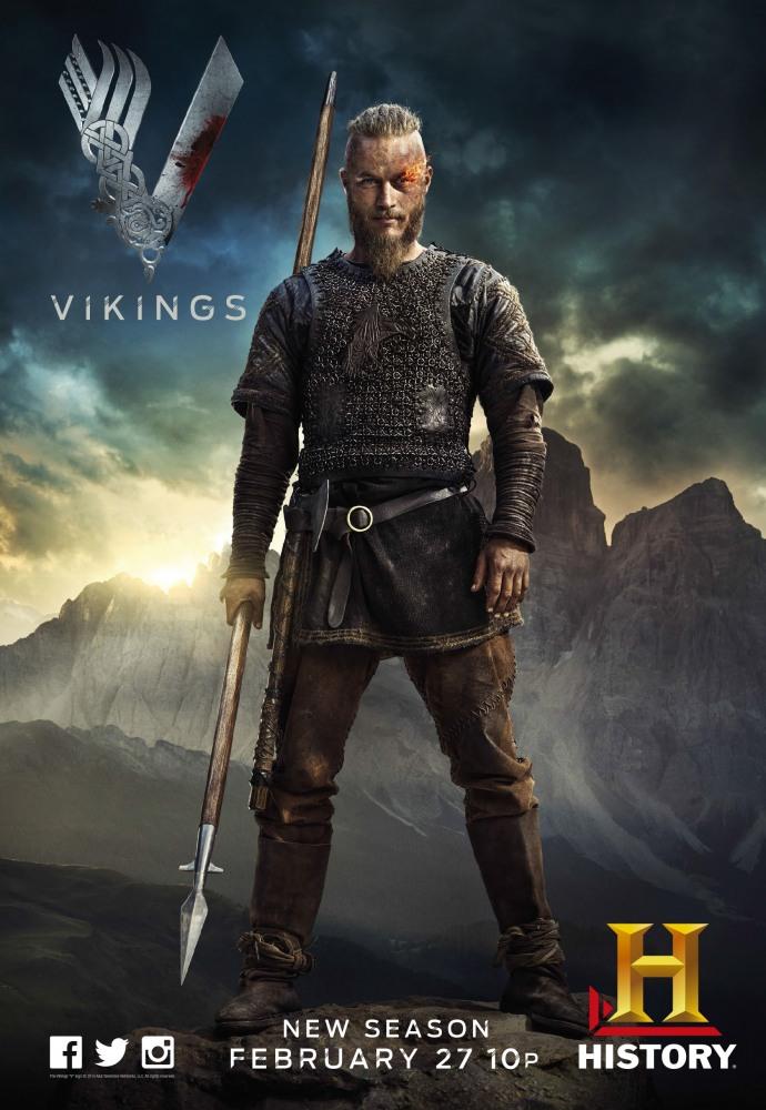 Викинги 3 сезон / Vikings 3 season 3, 4, 5, 6 серия на русском языке